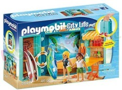 PLAYMOBIL SPEELBOX SURFSHOP