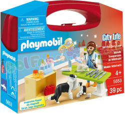 PLAYMOBIL Vet Visit Carry Case Dierenart