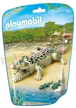 PLAYMOBIL ALLIGATOR MET BABY'S