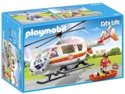 PLAYMOBIL TRAUMAHELIKOPTER