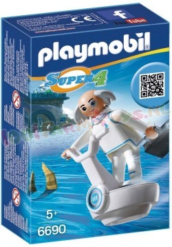 PLAYMOBIL PROFESSOR X SUPER 4