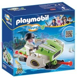 PLAYMOBIL SKYJET SUPER 4