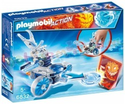 PLAYMOBIL FROSTY MET DISC-SHOOTER
