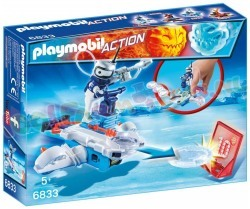 PLAYMOBIL ICEBOT MET DISC-SHOOTER