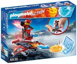 PLAYMOBIL FIREBOT MET DISC-SHOOTER