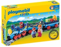 PLAYMOBIL STERRENTREIN MET PASSAGIERS