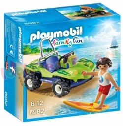 PLAYMOBIL SURFER MET STRANDBUGGY