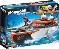 PLAYMOBIL Spy Team Turboschip