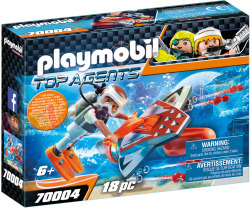 PLAYMOBIL Spy Team OnderwaterJet