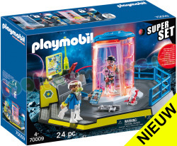 PLAYMOBIL Space SuperSet Galaxy Police