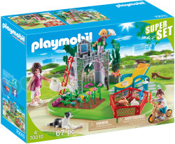 PLAYMOBIL Country SuperSet FamilieTuin