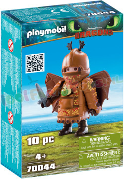 PLAYMOBIL Vissenpoot in Vliegpak