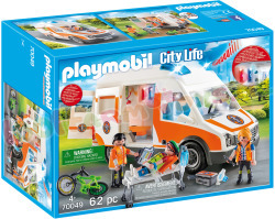PLAYMOBIL Ambulance en Ambulanciers
