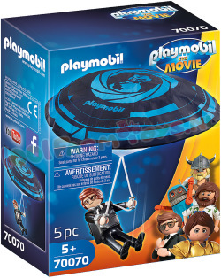PLAYMOBIL Rex Dasher met Parachute