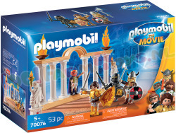 PLAYMOBIL Keizer Maximus in 't Colosseum