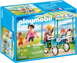 PLAYMOBIL Familiefiets