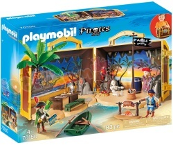 PLAYMOBIL Meeneem pirateneiland