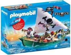 PLAYMOBIL Piratenschuit +Onderwatermotor