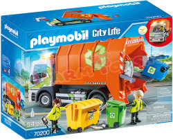 PLAYMOBIL Afval recycling Truck
