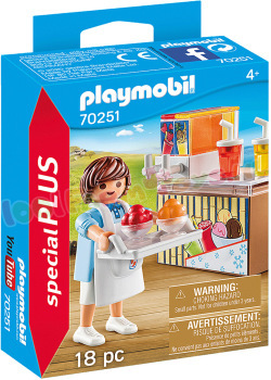 PLAYMOBIL Slush-verkoper
