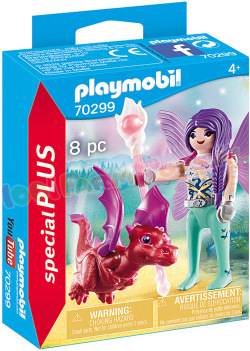 PLAYMOBIL Fee met Drakenbaby