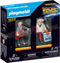 PLAYMOBIL Marty McFly & Dr. Emmet Brown