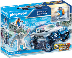 PLAYMOBIL Sneeuwwezen Expeditie