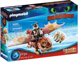 PLAYMOBIL Dragon Racing Vissenpoot+Spek-