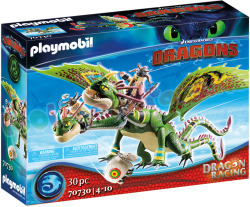 PLAYMOBIL Dragon Racing Schorrie+Morrie