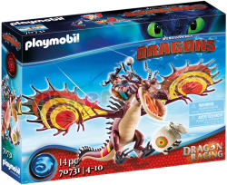 PLAYMOBIL Dragon Racing Snotvlerk+Haak-