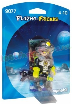 PLAYMOBIL MEGA MASTERS SPION