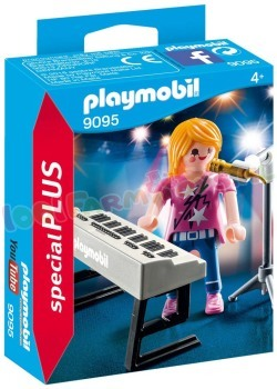 PLAYMOBIL ZANGERES MET KEYBOARD
