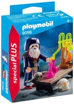 PLAYMOBIL TOVENAAR MET LABORATORIUM