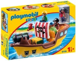 PLAYMOBIL 1.2.3 PIRATENSCHIP