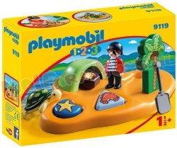 PLAYMOBIL 1.2.3 PIRATENEILAND