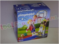 PLAYMOBIL BASKETBALLERS MET RING