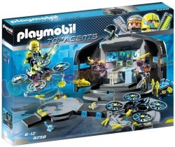 PLAYMOBIL DR. DRONE'S COMMANDOCENTRUM