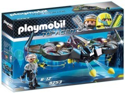 PLAYMOBIL TOP AGENTS MEGADRONE