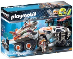 PLAYMOBIL SPY TEAM GEVECHTSTRUCK