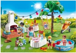 PLAYMOBIL FAMILIEFEEST MET BARBECUE