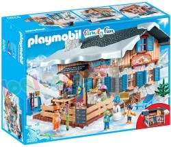 PLAYMOBIL WINTERSPORT SKIHUT