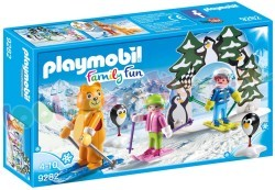 PLAYMOBIL SKISCHOOLTJE WINTERSPORT