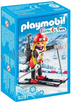 PLAYMOBIL BIATLETE WINTERSPORT