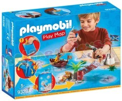PLAYMOBIL PIRATEN MET PLATTEGROND