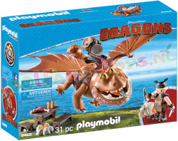 PLAYMOBIL DRAGONS VIZTIK & VLEESKOP