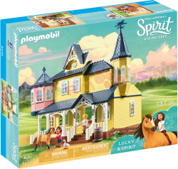 PLAYMOBIL Spirit LUCKY'S HUIS