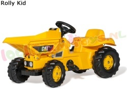 ROLLY KID CAT Dumper TrapTractor
