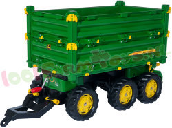 JOHN DEERE GROEN MULTI TRAILER 3-ASSIG
