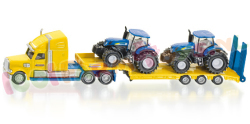 DIEPLADER + 2 NEW HOLLAND TRACTORS 1/87