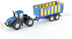 NEW HOLLAND MET SILAGEWAGEN 1/50